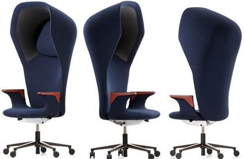 WorkBay Chair Helps Keep Annoying Workmates At Bay