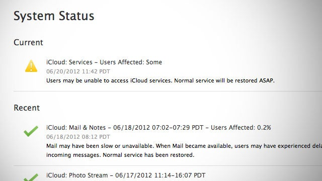 Apple's Cloud Services Are Experiencing a Significant Outage