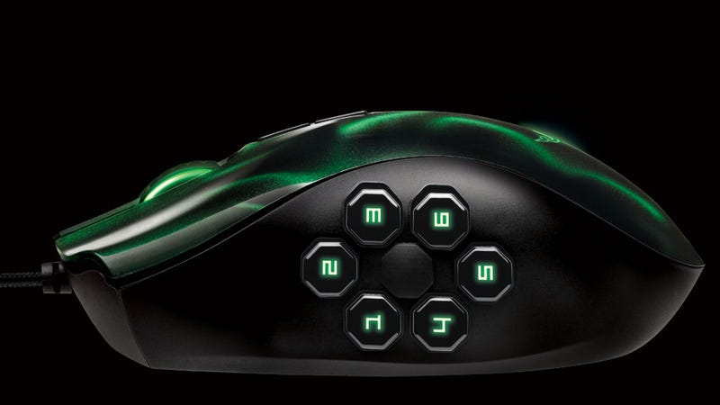 Razer's Naga Hex is a Mouse Made with the Multiplayer Online Battle Arena Fan in Mind