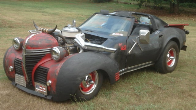 Strange Ebay find is part Plymouth truck, mostly Corvette and entirely bizarre