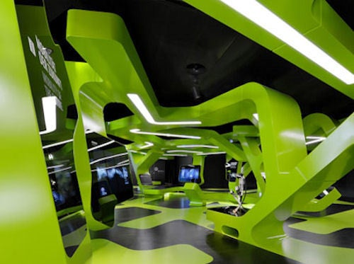 Volkswagen's Level Green: A Crazy Geometric Holodeck Wonderland