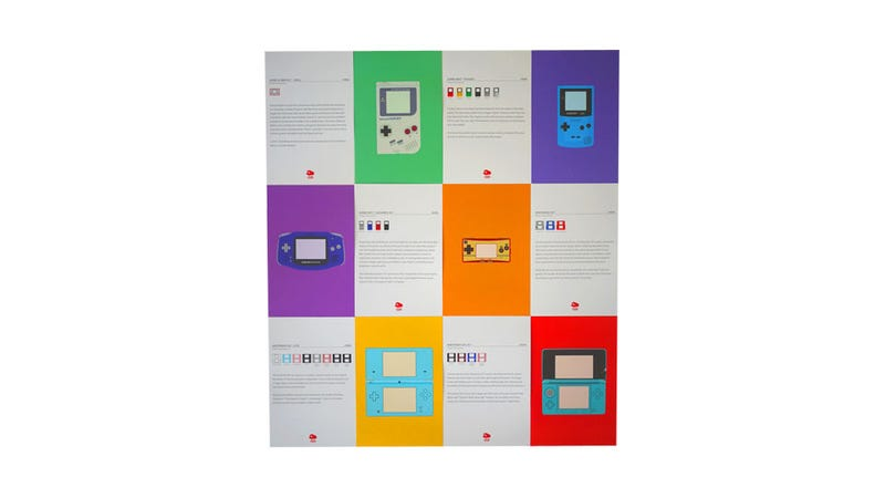 A History of Nintendo Handhelds On Beautiful Little Posters