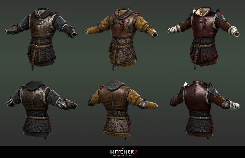 The Men, Women & Puffy Shirts of The Witcher 2