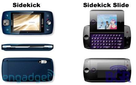 Sidekick 4 and Sidekick Slide?