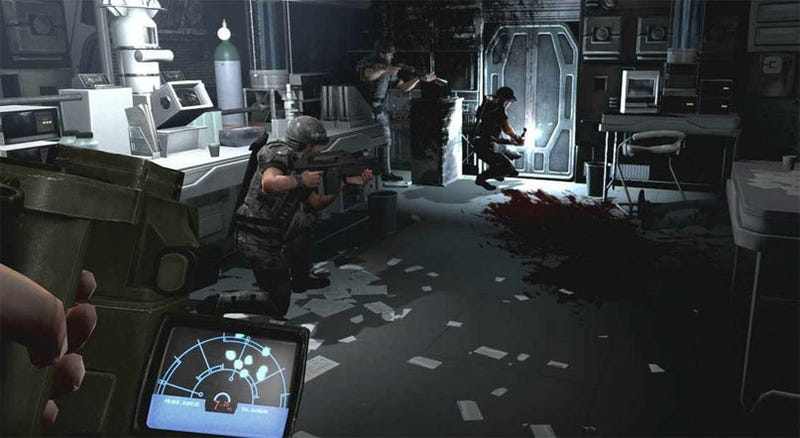 Aliens: Colonial Marines Got QTEs, Custom Cover & Flashbacks