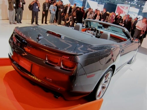 Camaro Convertible: The Mullet Drops Its Top