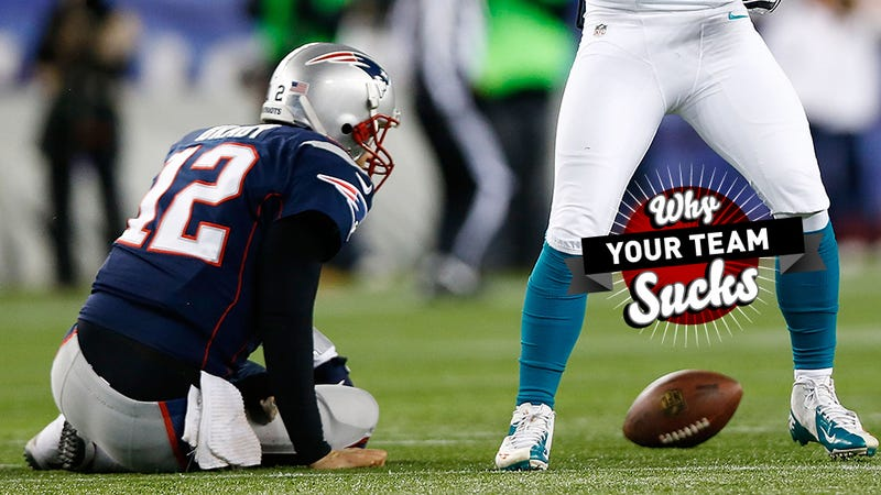 Why Your Team Sucks 2013: New England Patriots