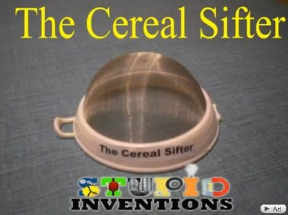 Cereal Dust Invention is Just a Regular Sifter
