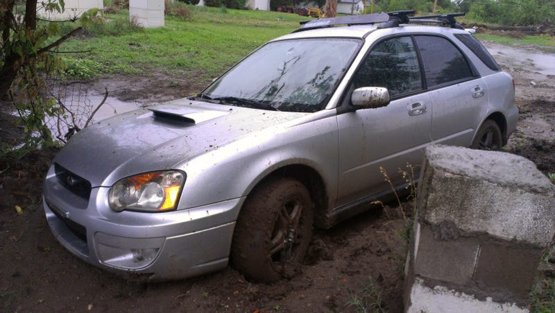 I Mudded a WRX, Because Dumbass