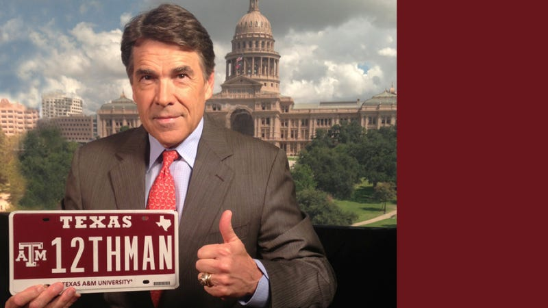 Innumerate Aggie Spends $115,000 On '12THMAN' License Plate