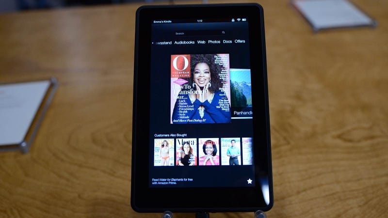Kindle Fire HD Hands On: Pretty Impressive—For the Price