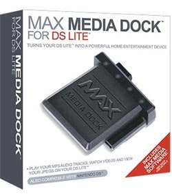 MAX Media Dock For Nintendo DS and DS Lite