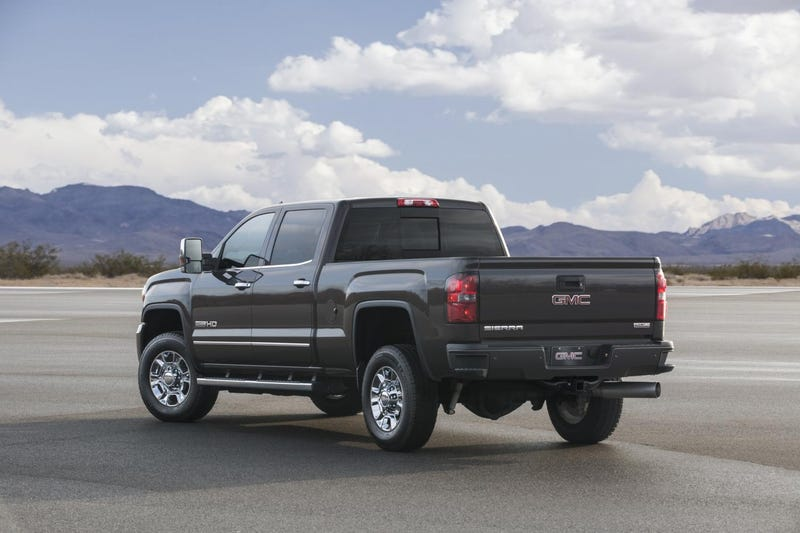 The 2015 GMC Sierra All Terrain HD Is For Doing Work Comfortably