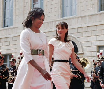 Michelle Obama Hates Her Life, According to Carla Bruni (Update)
