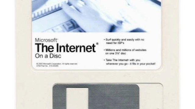 The Entire Internet on a Floppy Disk