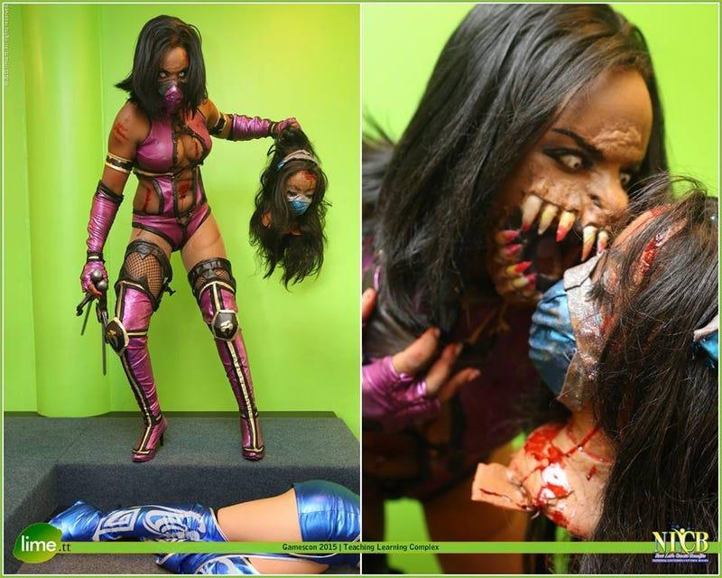Nightmare Fuel Mortal Kombat Cosplay