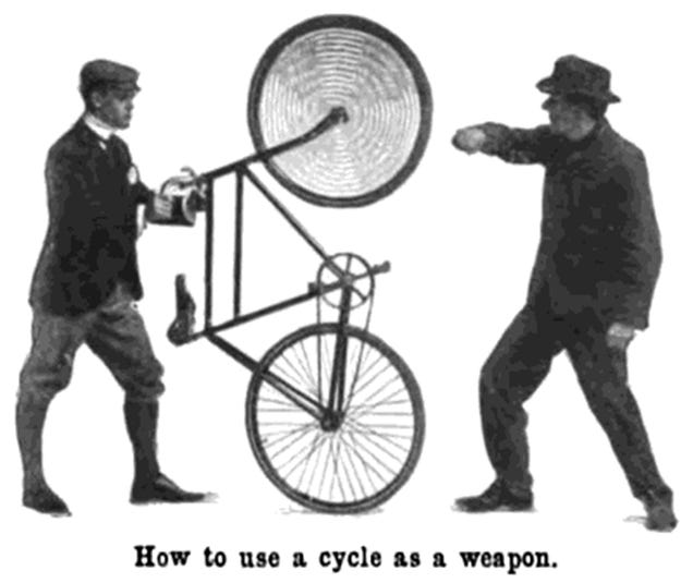 How to Use Your Bike for Self Defense