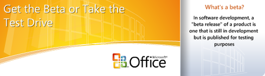 Office 2007 Online Preview
