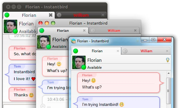 InstantBird is a Lightweight, Cross-Platform Instant Messaging App with Sharp Looks
