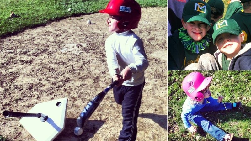 The Official Deadspin Youth T-Ball League Opened The Season By Picking Dandelions