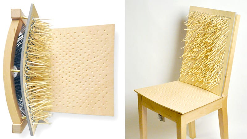 You'll Need To Appease This Porcupine Chair Before You Can Sit On It