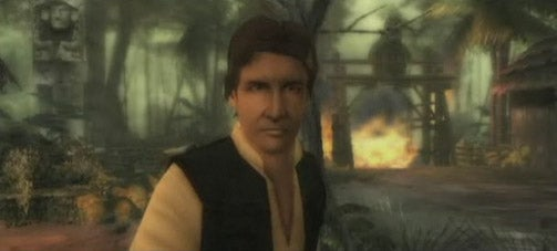 Han Solo in Indiana Jones and the Staff of Kings