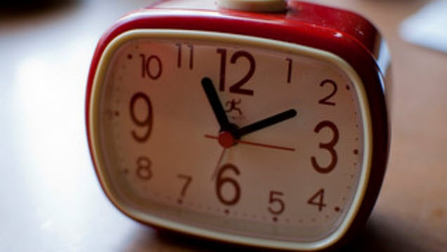 Resist the Urge to Check the Clock for a Better Night's Sleep