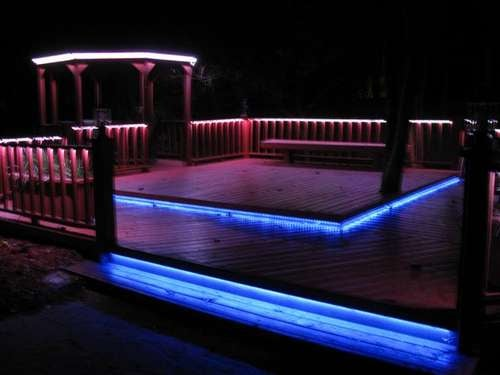 LED Deck Lighting Adds Some Zazz to Your Party