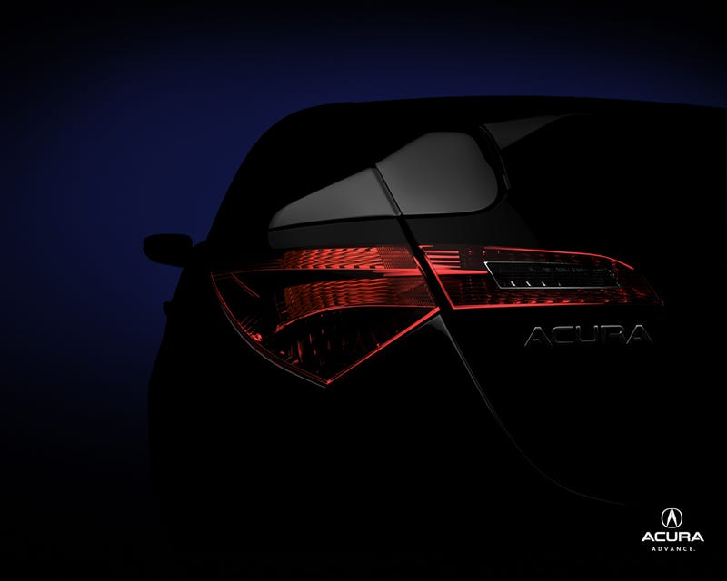 Acura Coupe Crossover Concept Teased