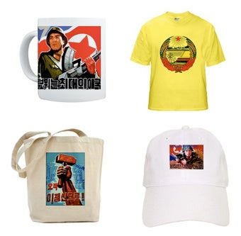 Get Your North Korean Propaganda Goodies From CafePress While They're Hot