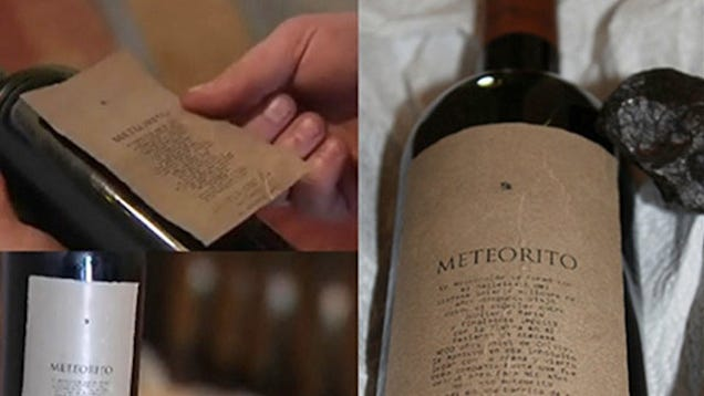 I Really Want to Drink This Wine Aged with a 4.5 Billion-Year-Old Meteorite