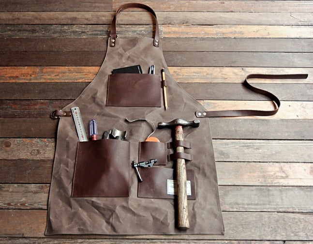 The Gentleman's Apron: Look Suave, Get Dirty