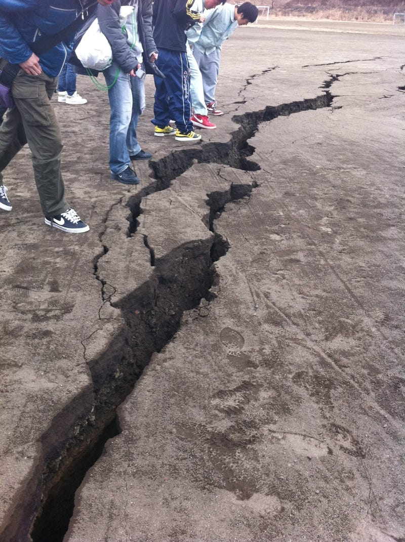 Japan Hit With 8.9-Magnitude Earthquake, Massive Tsunami Follows