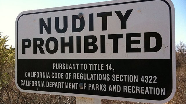 It's Nude Bathers Vs. Uniformed Officers On San Diego Beaches