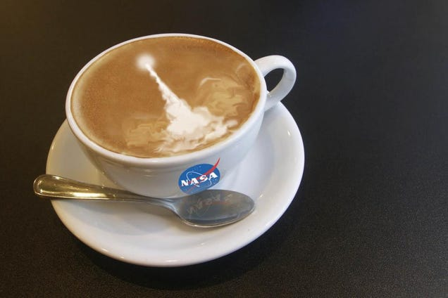 Celebrating Coffee, Astronaut-Style