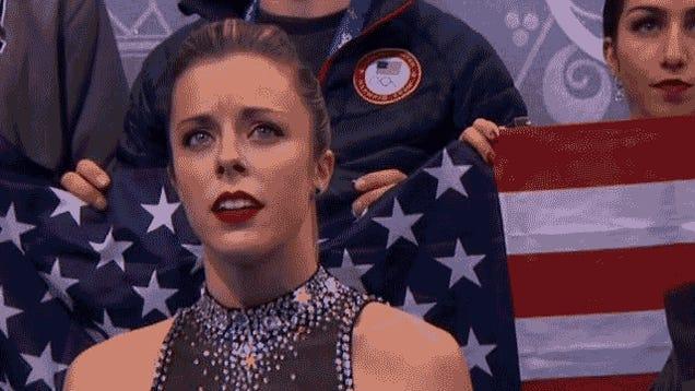 "Ashley Wagner's ""Bullshit"" Moment Is The First Meme Of The Sochi Games"