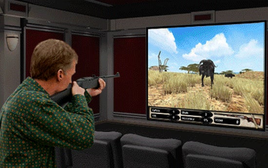 Home Theater Hunting Sim Offers Duck Hunt Without The Damn Dog