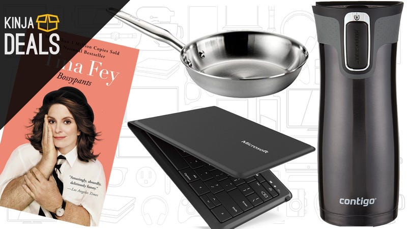 Sunday's Best Deals: Kindle Bestsellers, Kitchen Gear, Foldable Keyboard, and More