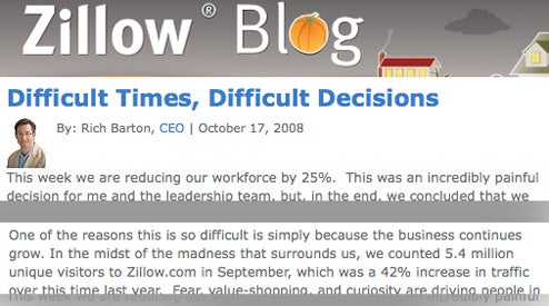 Zillow jumps on the firebus