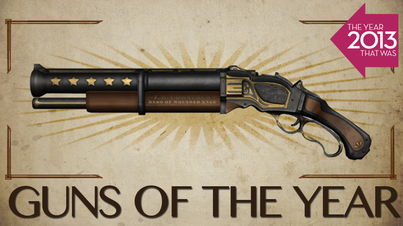 The Greatest Video Game Guns of 2013