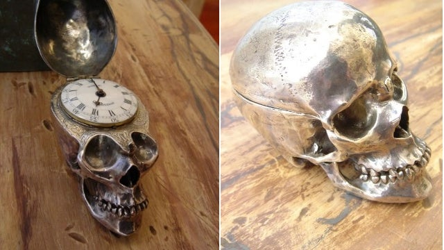 This Antique Skull Watch Ticks Down To Your Inevitable Demise