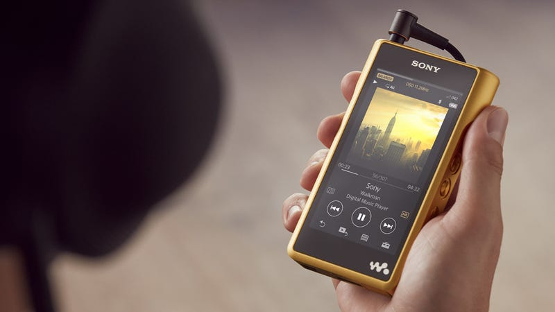 Just When You Thought Sony's Quest to Revive the Walkman Couldn't Get More Ridiculous