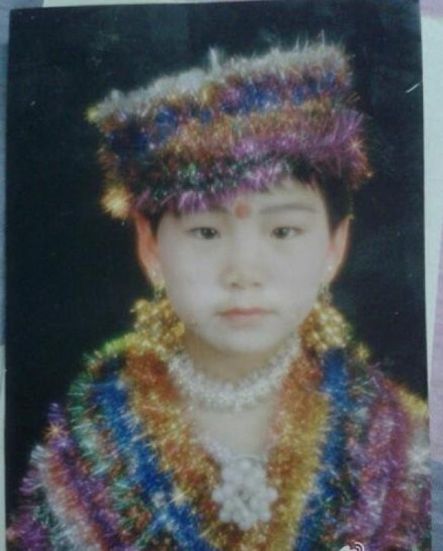 China's Embarrassing Childhood Photos