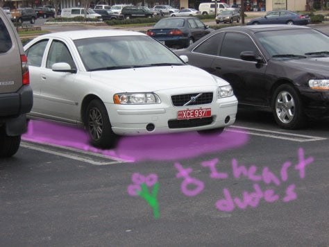 No Men Allowed! Swiss Create Pink Parking Spaces
