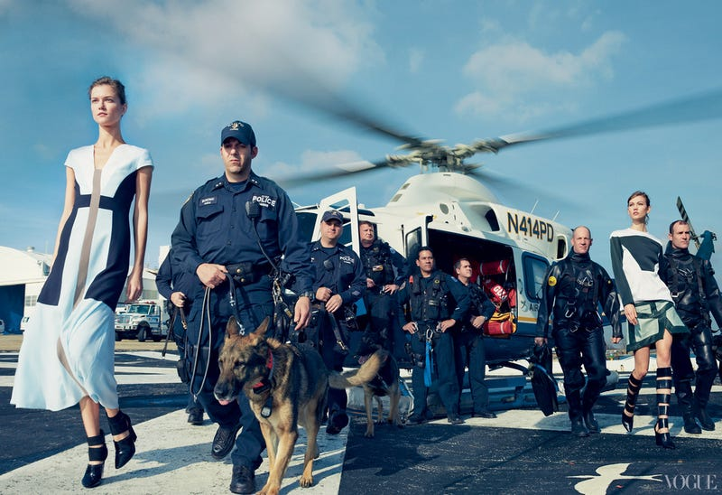 Is Annie Leibovitz's Hurricane Sandy Fashion Shoot for Vogue Tacky, Tasteless, or Both?