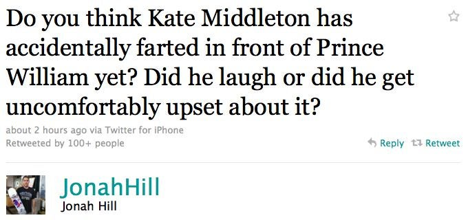 Has Kate Middleton Farted In Front Of Prince William Yet?