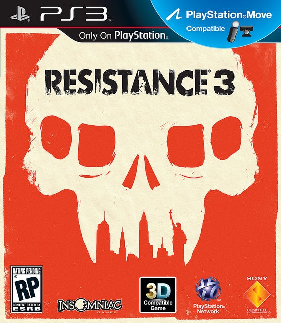 Resistance 3 is Now the Leading Contender for Box Art of the Year
