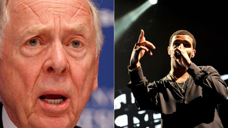 Anonymous Harassment, Drake vs. T. Boone Pickens, Cocaine Psychosis and more...
