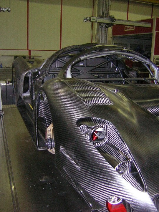 P4/5 Competitzione: Race Car Or Carbon Fiber Sculpture?