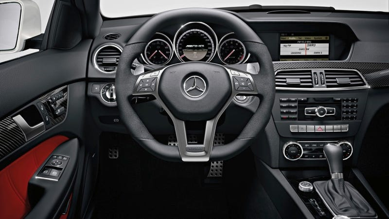 2012 Mercedes-Benz C63 AMG Coupe proves two doors are more sexy than four